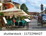 cracow krakow poland   31... | Shutterstock . vector #1172298427