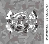 beacon on grey camouflaged... | Shutterstock .eps vector #1172300764