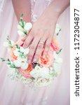 flowers wedding day | Shutterstock . vector #1172304877