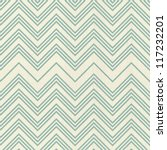 retro seamless zigzag pattern | Shutterstock .eps vector #117232201