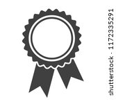ribbons award template isolated ... | Shutterstock .eps vector #1172335291