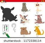 cartoon illustration of finding ... | Shutterstock .eps vector #1172338114