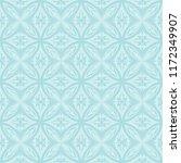 seamless ornate floral pattern... | Shutterstock .eps vector #1172349907