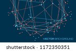 vector abstract futuristic... | Shutterstock .eps vector #1172350351
