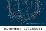 vector abstract futuristic... | Shutterstock .eps vector #1172350351