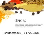 spices isolated on white... | Shutterstock . vector #117238831