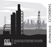 oil and petroleum industry | Shutterstock .eps vector #1172408041