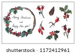 vector design elements set.... | Shutterstock .eps vector #1172412961