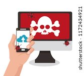 technology and virus | Shutterstock .eps vector #1172434921