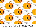 seamless vector pattern. cute... | Shutterstock .eps vector #1172442367