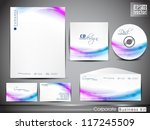 professional corporate identity ... | Shutterstock .eps vector #117245509