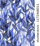 blue white floral pattern... | Shutterstock . vector #1172468011
