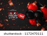 black friday sale background... | Shutterstock .eps vector #1172470111