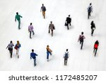 abstract image of people in the ...   Shutterstock . vector #1172485207