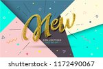 banner new. speech bubble ... | Shutterstock .eps vector #1172490067
