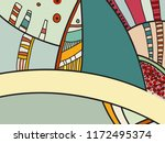 abstract contemporary art with... | Shutterstock .eps vector #1172495374
