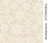 stylized snowflakes on gold... | Shutterstock .eps vector #1172501821