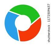 camera aperture symbol. vector. | Shutterstock .eps vector #1172509657