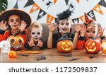 Happy Halloween  A Group Of...