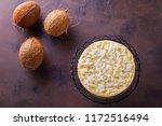 homemade delicious coconut... | Shutterstock . vector #1172516494