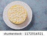 homemade delicious coconut... | Shutterstock . vector #1172516521