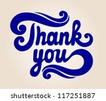 \'thank You\' Hand Lettering