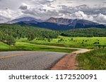 pikes peak  colorado   Shutterstock . vector #1172520091