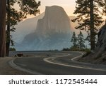 sunrise on half dome just... | Shutterstock . vector #1172545444