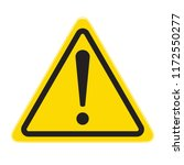 technical warning sign  hazard   | Shutterstock .eps vector #1172550277