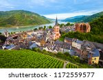Bacharach Aerial Panoramic Vie...