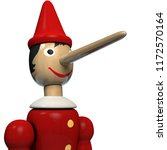 Pinocchio Wooden Doll Character ...