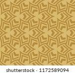 modern seamless geometric... | Shutterstock .eps vector #1172589094