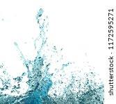 clean water spalsh background....   Shutterstock . vector #1172595271