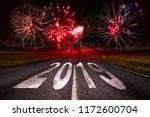2019 new year celebration... | Shutterstock . vector #1172600704