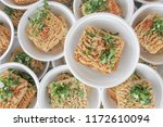 many cheap noodles.uncooked... | Shutterstock . vector #1172610094