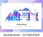 advertising and promo modern... | Shutterstock .eps vector #1172615164