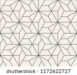 vector seamless pattern. modern ... | Shutterstock .eps vector #1172622727