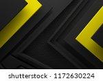 black yellow dark abstract... | Shutterstock . vector #1172630224