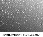 snow background. realistic... | Shutterstock .eps vector #1172639587