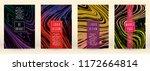 modern marble cover design for... | Shutterstock .eps vector #1172664814