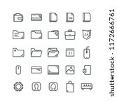 vector illustration. set of 25...