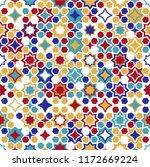 seamless islamic patterns in... | Shutterstock .eps vector #1172669224