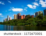 buildings on the banks of the poti river in Teresina