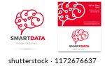 smart data  data analytics logo ... | Shutterstock .eps vector #1172676637