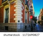 madrid  spain  08 16 2018  a... | Shutterstock . vector #1172690827