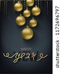 greeting card  invitation with... | Shutterstock .eps vector #1172696797