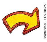 cartoon doodle lit up sign | Shutterstock .eps vector #1172706997