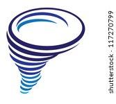 illustration of tornado | Shutterstock .eps vector #117270799