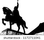 citadel fortress alba carolina  ... | Shutterstock .eps vector #1172711041