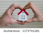 real estate agent and mortgage... | Shutterstock . vector #1172741281